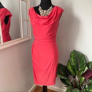 Women's DRESS RED ORANGE NWOT North Style